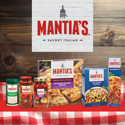 Mantia's Savory Italian Food Products at Save A Lot Discount Grocery Stores