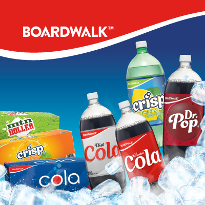 Boardwalk Sodas at Save A Lot Discount Grocery Stores