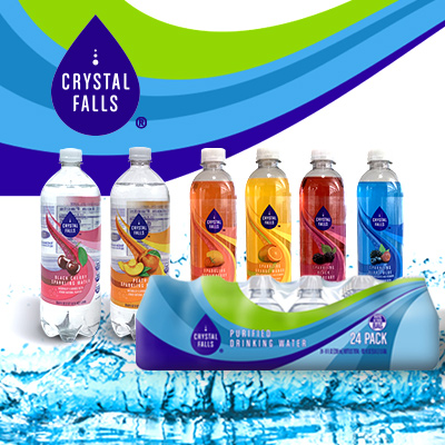 Crystal Falls Water at Save A Lot Discount Grocery Stores