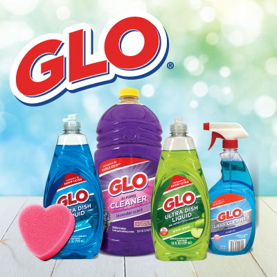 Glo Cleaning Products at Save A Lot Discount Grocery Stores
