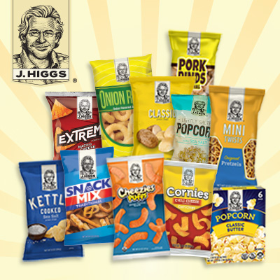 J Higgs Snack Foods at Save A Lot Discount Grocery Stores