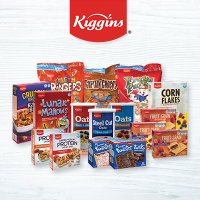 Kiggins Cereals and Breakfast Bars at Save A Lot Discount Grocery Stores