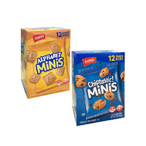 Alphabet and Chiptastic Minis at Save A Lot Discount Grocery Stores